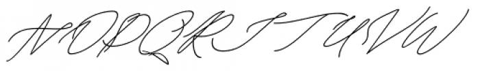 Keraton Italic Font UPPERCASE