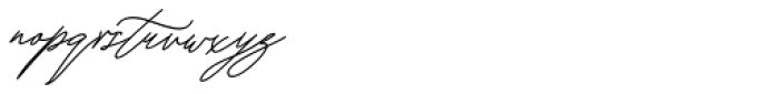 Keraton Italic Font LOWERCASE