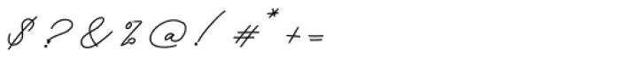 Keraton Regular Font OTHER CHARS