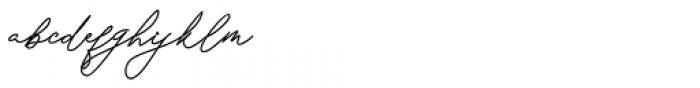 Keraton Regular Font LOWERCASE