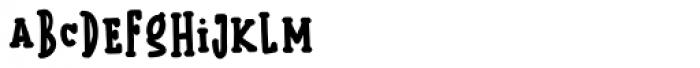 Kermel Serif Bold Font LOWERCASE
