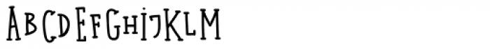 Kermel Serif Regular Font UPPERCASE