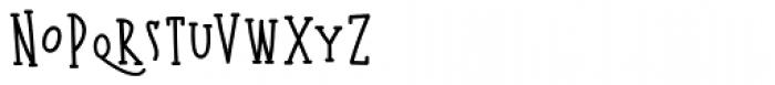 Kermel Serif Regular Font LOWERCASE