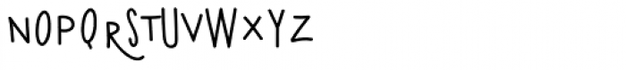 Kermel Font UPPERCASE