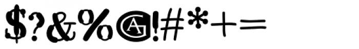 Kerndog Font OTHER CHARS