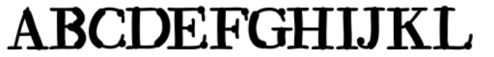 Kerndog Font UPPERCASE