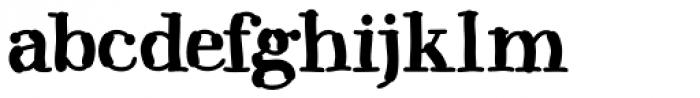 Kerndog Font LOWERCASE