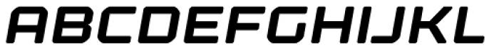 Kernel Bold Oblique Font UPPERCASE