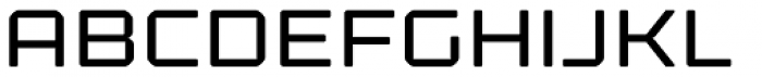 Kernel Regular Font UPPERCASE
