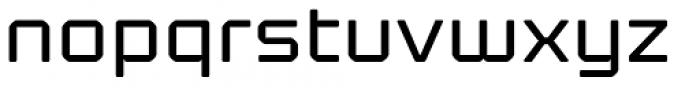 Kernel Regular Font LOWERCASE