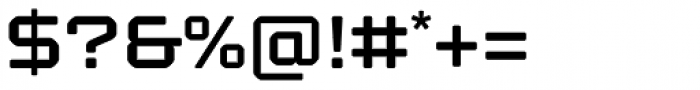Kernel SC Semibold Font OTHER CHARS