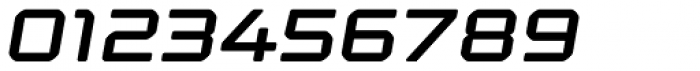 Kernel Semibold Oblique Font OTHER CHARS