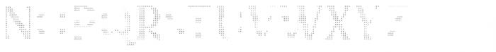 Kertayasa Inside Dotted Font LOWERCASE