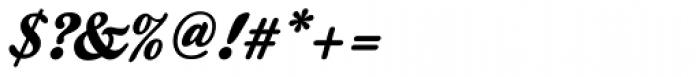 Kestrel Script Font OTHER CHARS