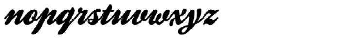 Kestrel Script Font LOWERCASE