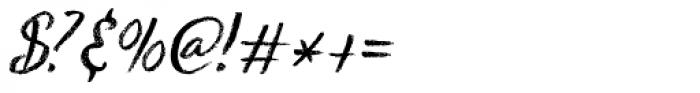 Keswick Italic Font OTHER CHARS