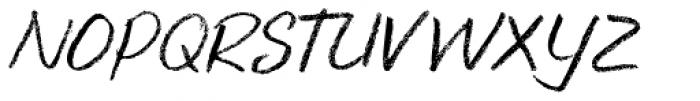 Keswick Italic Font UPPERCASE