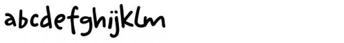 Ketimun Regular Font LOWERCASE