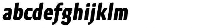 Kette Pro Cond Bold Italic Font LOWERCASE