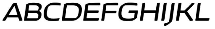 Kette Pro Ext Italic Font UPPERCASE