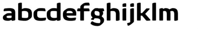 Kette Pro Ext Medium Font LOWERCASE