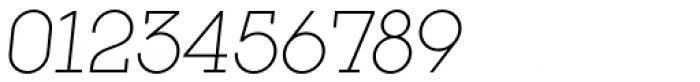 Kettering 105 Light Oblique Font OTHER CHARS
