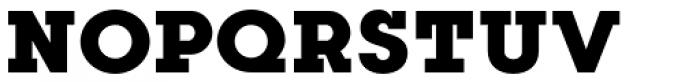 Kettering 205 Heavy Font UPPERCASE