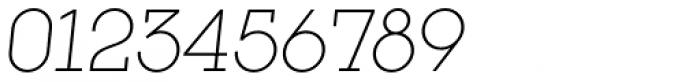 Kettering 205 Light Oblique Font OTHER CHARS
