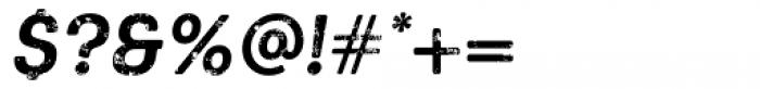 Keymer Block Bold Italic Font OTHER CHARS