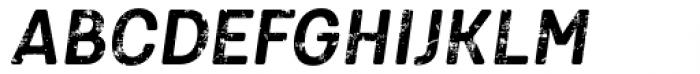 Keymer Block Bold Italic Font UPPERCASE
