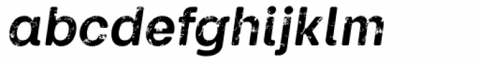 Keymer Block Bold Italic Font LOWERCASE