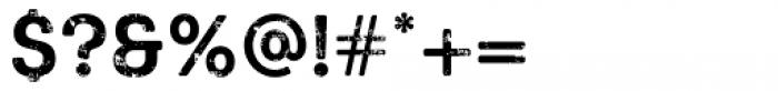 Keymer Block Bold Font OTHER CHARS