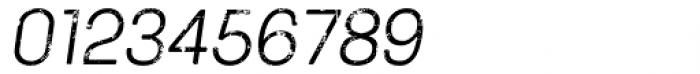 Keymer Block Regular Italic Font OTHER CHARS