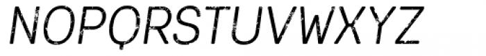 Keymer Block Regular Italic Font UPPERCASE