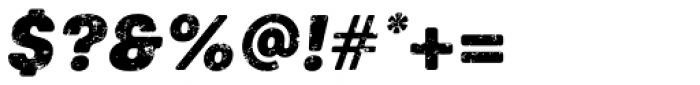Keymer Block Ultra Italic Font OTHER CHARS
