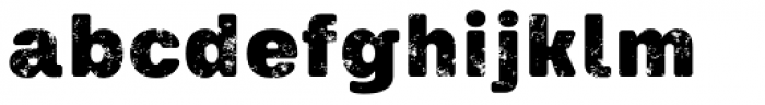 Keymer Block Ultra Font LOWERCASE