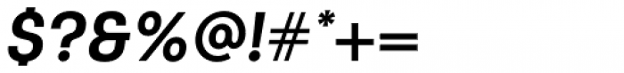 Keymer Bold Italic Font OTHER CHARS