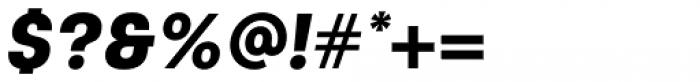 Keymer Heavy Italic Font OTHER CHARS