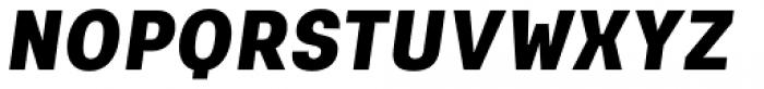 Keymer Heavy Italic Font UPPERCASE