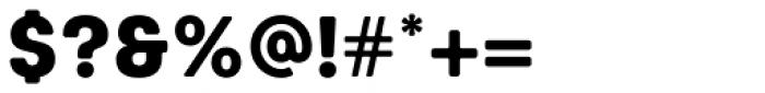 Keymer Radius Heavy Font OTHER CHARS