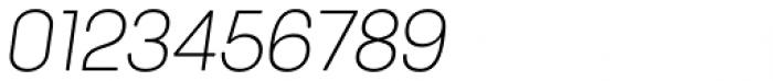 Keymer Radius Light Italic Font OTHER CHARS