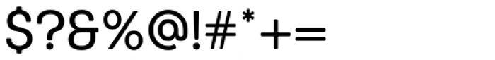 Keymer Radius Medium Font OTHER CHARS