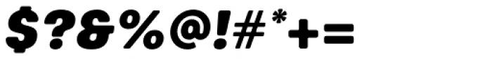 Keymer Radius Ultra Italic Font OTHER CHARS
