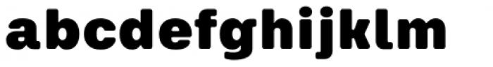 Keymer Radius Ultra Font LOWERCASE