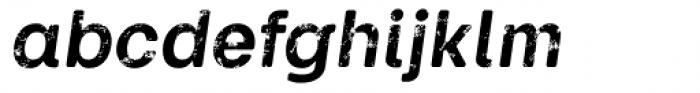 Keymer Thug Bold Italic Font LOWERCASE