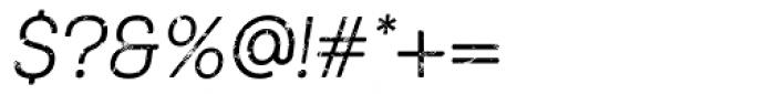 Keymer Thug Regular Italic Font OTHER CHARS