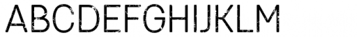 Keymer Thug Regular Font UPPERCASE