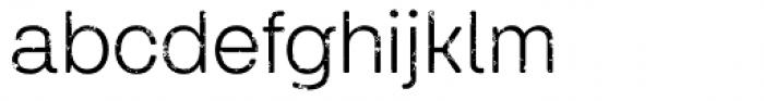 Keymer Thug Regular Font LOWERCASE