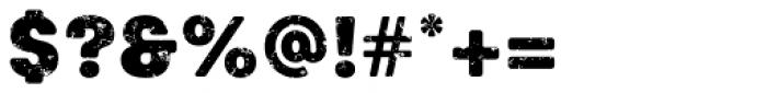 Keymer Thug Ultra Font OTHER CHARS
