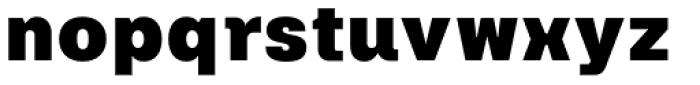 Keymer Ultra Font LOWERCASE